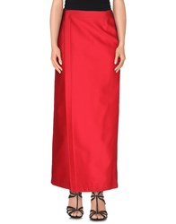 Dsquared2 Skirts Long Skirts Women Fuchsia