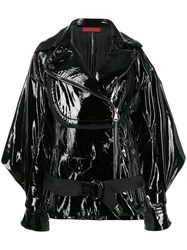 Di Liborio Shiny Effect Belted Jacket 60