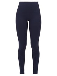 Lndr Eight Eight High Rise Compression Leggings Navy