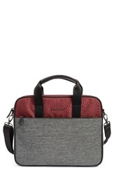Ted Baker Men's London Piranha Briefcase Red