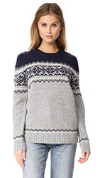 Penfield Heywood Knit Sweater Light Grey
