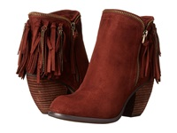 Not Rated Flippin Fringe Rust Women's Zip Boots Red