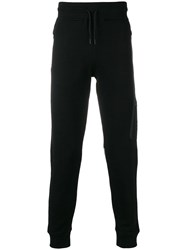 Hydrogen Loose Fitted Track Trousers Black