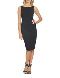 1.State At Leisure Sleeveless Bodycon Dress Rich Black