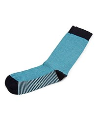 Ted Baker Geo Stripe Socks Light Blue