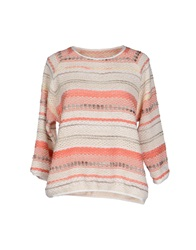 Sessun Sweaters Beige