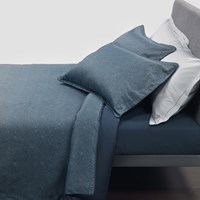 Trussardi Cembro Duvet Set Blue Super King