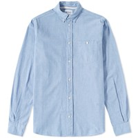 Norse Projects Anton Chambray Shirt Blue