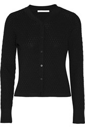 Jonathan Simkhai Textured Knit Cardigan Black