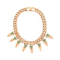 Mawi Deco Fang Necklace