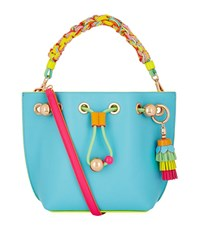 Sophia Webster Mini Romy Bucket Bag Female Aqua