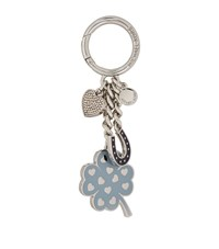 Michael Michael Kors Lucky Four Leaf Clover Key Charm Female Blue