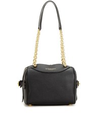 Burberry The Alchester Leather Bowling Bag Black