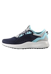 Adidas Performance Alphabounce Lux Neutral Running Shoes Collegiate Navy Clear Aqua Clear Onix Dark Blue