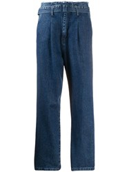 Federica Tosi High Waisted Belted Jeans 60