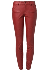 Evenandodd Trousers Red