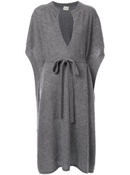 Le Kasha Cashmere Knitted Dress Grey