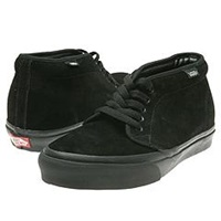 Vans Chukka Boot Core Classics Black Black Suede Shoes