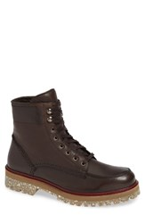 Donald J Pliner Larz Lugged Moc Toe Boot Chianti