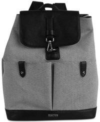 Kenneth Cole Reaction Traveler Canvas Medium Backpack Black Canvas