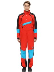 The North Face 92 Extreme Wind Suit Red
