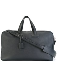 Tom Ford Tag Detail Holdall Blue
