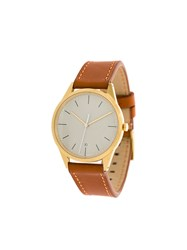 Uniform Wares C36 Date Watch Brown