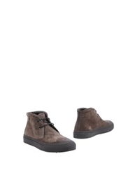Ef By Enrico Fantini High Top Dress Shoes Dark Brown