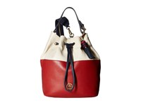 Tommy Hilfiger Summer Of Love Pebble Color Block Backpack Red Navy Backpack Bags Multi