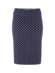 White Stuff Noma Reversible Tube Skirt Navy