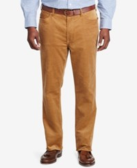 Polo Ralph Lauren Men's Big And Tall Classic Fit Stretch Corduroy Pants Rustic Tan