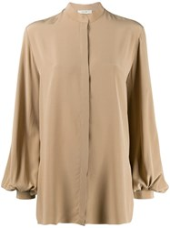 The Row Oversized Blouse Neutrals