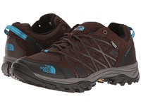 The North Face Storm Iii Wp Demitasse Brown Hyper Blue Women's Shoes
