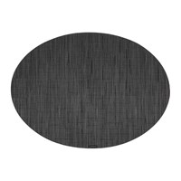 Chilewich Bamboo Oval Placemat Smoke