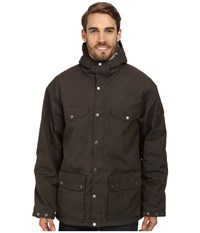 Fjall Raven Greenland Winter Jacket Mountain Grey Men's Coat Brown