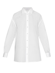 Tomas Maier Loose Fitting Cotton Poplin Shirt