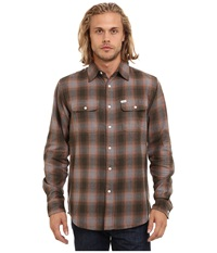 Matix Clothing Company Parker Flannel Grey Men's Clothing Gray