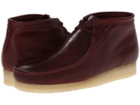 Clarks Wallabee Boot Burgundy Leather Men's Lace Up Boots