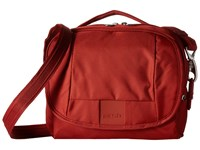 Pacsafe Metrosafe Ls140 Compact Shoulder Bag Vintage Red Cross Body Handbags