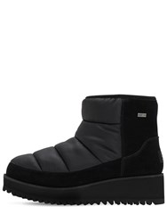 Ugg 50Mm Suede And Nylon Moon Boots Black