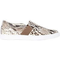 Lanvin Python Slip On Sneakers Neutral