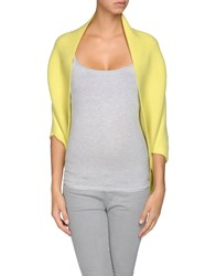 Paolo Errico Cardigans Yellow