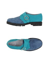 New Kid Footwear Moccasins Women Slate Blue