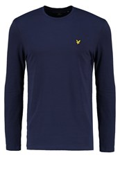 Lyle And Scott Long Sleeved Top Navy Dark Blue