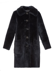 Marc Jacobs Patch Pockets Lamb Fur Coat