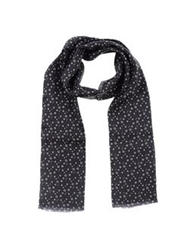 Manuel Ritz Oblong Scarves Black