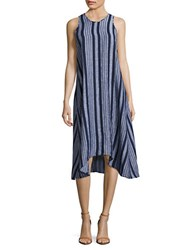 Lord And Taylor Solid Swing Dress Morning Sky