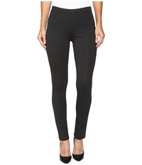 Nic Zoe Perfect Ponte Pant Phantom Heather Women's Dress Pants Black