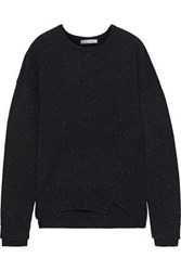 Duffy Woman Donegal Cashmere Sweater Black