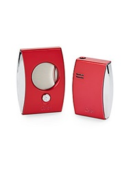 Colibri Eclipse Lighter And Cigar Cutter Gift Set